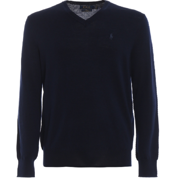 NWT Polo Ralph Lauren Merino Wool V-neck sweater